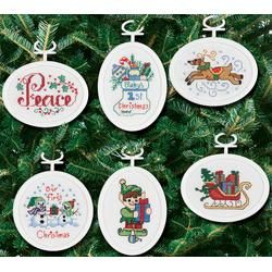 45 best cross stitch ornament frames images on Pinterest
