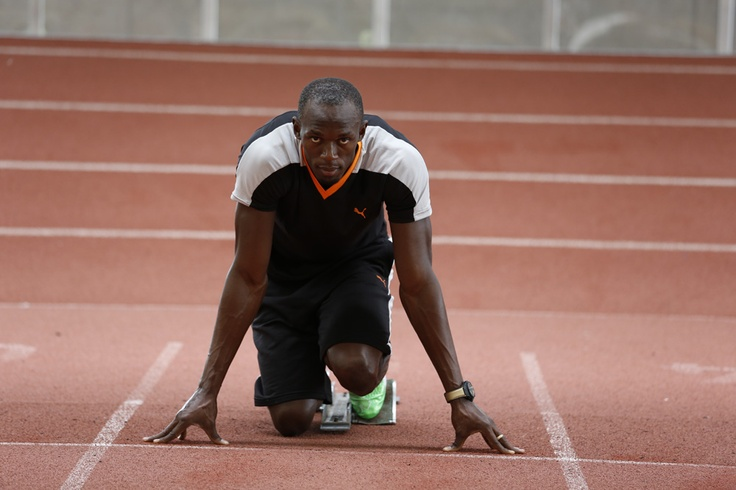 Usain Bolt jeux olympiques montre Hublot King Power copyright Hublot 2012
