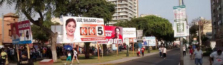 En estos tiempos en Perú, se está apreciando en las principales avenidas una contaminación visual en publicidad excesiva y va incrementando con el paso de los años.  El fenómeno de la contaminación visual ha generado 2 tipos de usuarios consumidores.