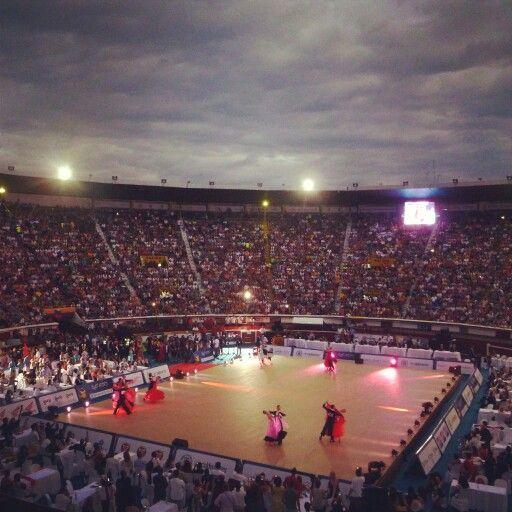 Baile deportivo en los juegos mundiales Cali 2013 :)