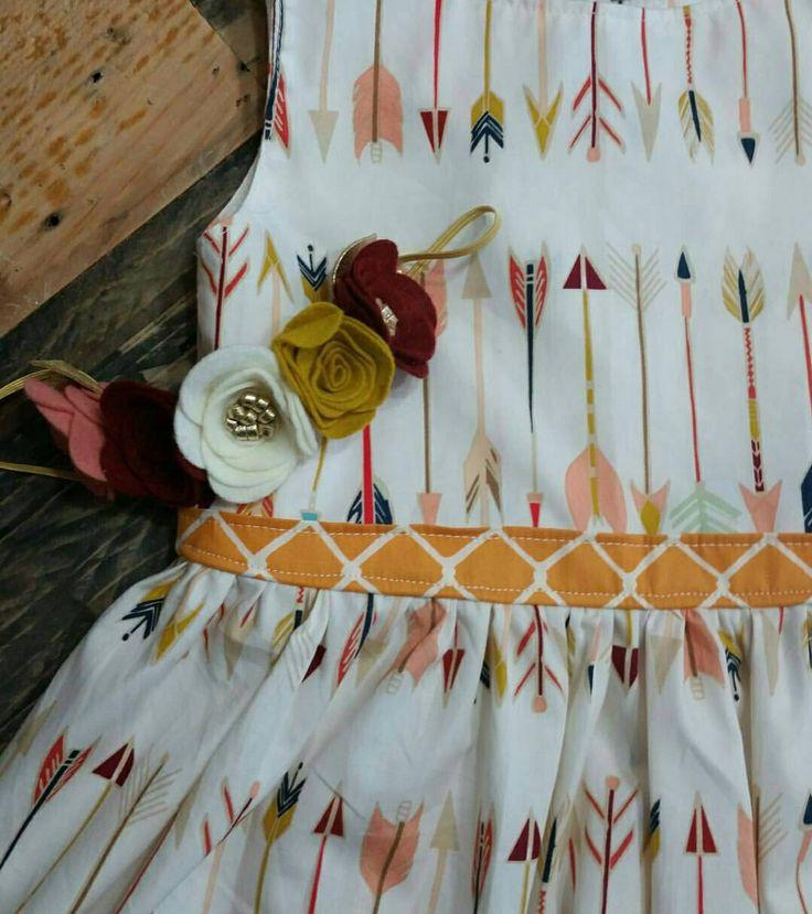 Trendy Arrow Print - Toddler Holiday Dress - Arrow Holiday Dress - LIMITED EDITION DRESS - Cream Tribal Dress - Girls Christmas Dress by LittleMaeSunshine on Etsy https://www.etsy.com/listing/258600225/trendy-arrow-print-toddler-holiday-dress