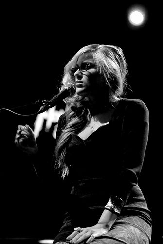 Melody Gardot.  Obsessed with her music and her story. She's the ultimate.