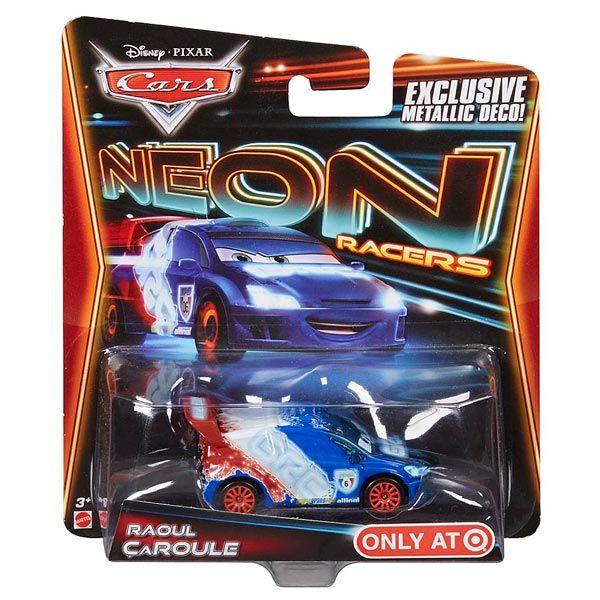 Cars Véhicule Neon Raoul Caroule Mattel : King Jouet, Voitures radiocommandées Mattel - Véhicules, circuits et jouets radiocommandés