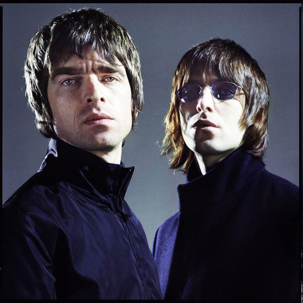Noel Gallagher and Liam Gallagher by Chris Floyd.