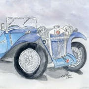 MG 1926, Watercolor, 9 x 12 Inches, from Eva Marie's latest gallery update on New Irish Art