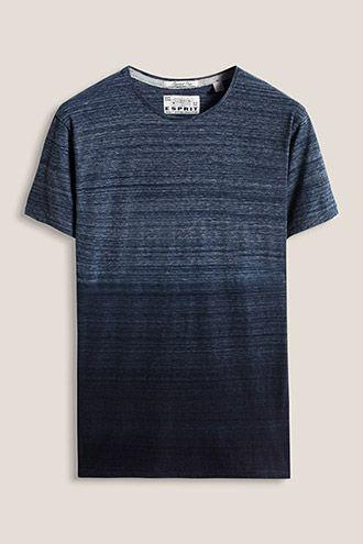 Esprit / Dip Dye Jersey T-Shirt, 100% Baumwolle