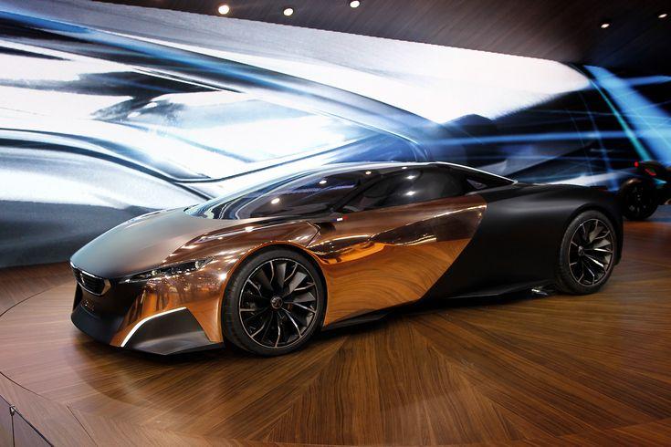 Peugeot Onyx with copper doors