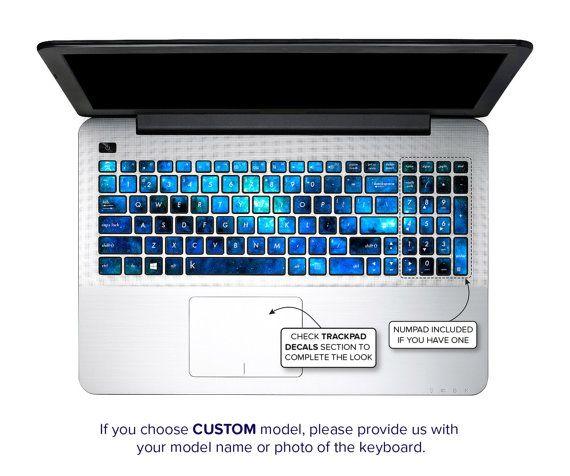 Asus Keyboard Stickers Keyboard Decals Asus Laptop Skin ...