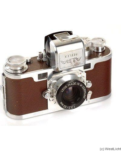 Pignons: Alpa Reflex II 'De Luxe' camera