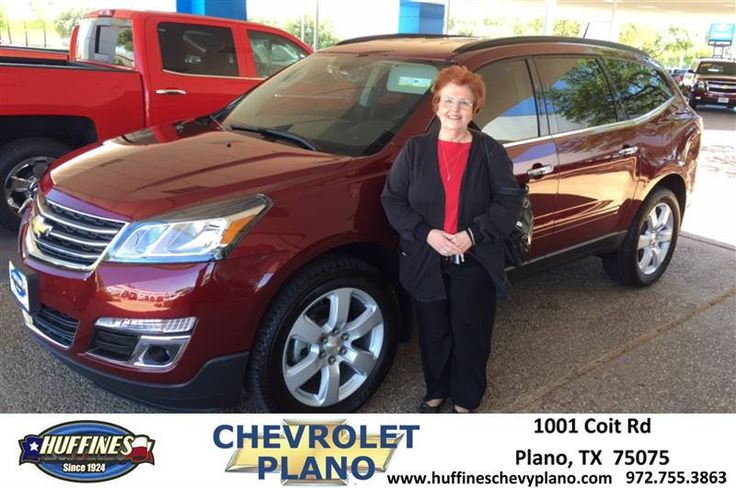 https://flic.kr/p/TPWs5Y | Happy Anniversary to Norma on your #Chevrolet #Traverse from Dan Werner at Huffines Chevrolet Plano | deliverymaxx.com/DealerReviews.aspx?DealerCode=NMCL