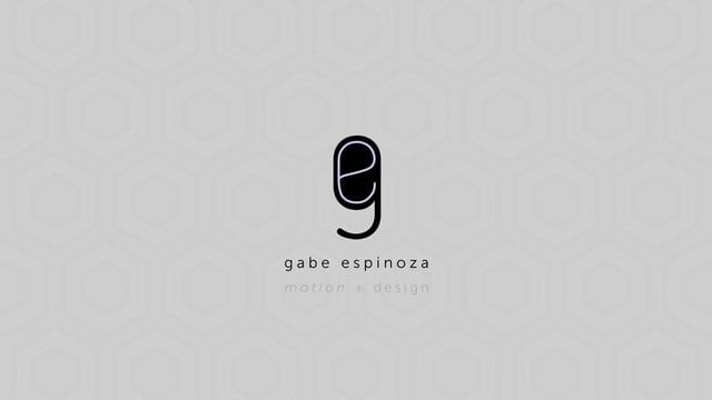 A compilation of recent works from Gabe Espinoza (The Motionista).