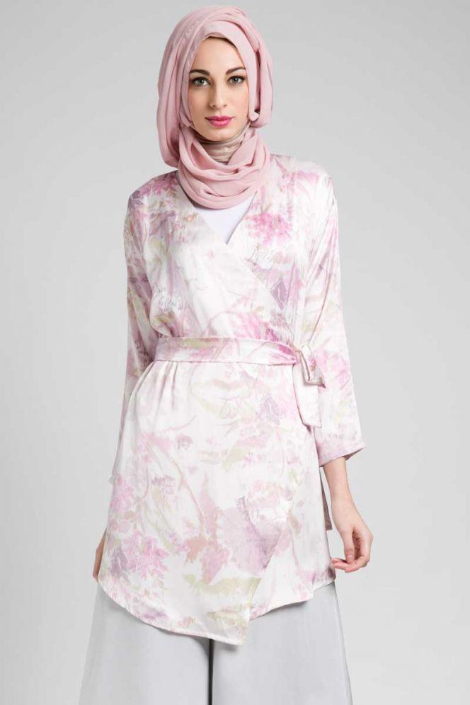 Hijab Floral Pastel Ria Miranda