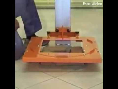 Maszyna Ulatwiajaca Murowanie Slupkow Z Klinkieru Dla Domu Ham