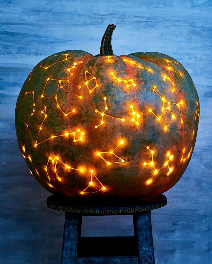 Halloween Pumpkin-Carving Patterns and Pumpkin Templates