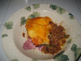 Best Shepherd's Pie INGREDIENTS : -1 lbGround Beef -1 Tbsp Olive Oil -1/2 tsp Salt -1/4 tsp Pepper -1 (14 oz) Can Cu...
