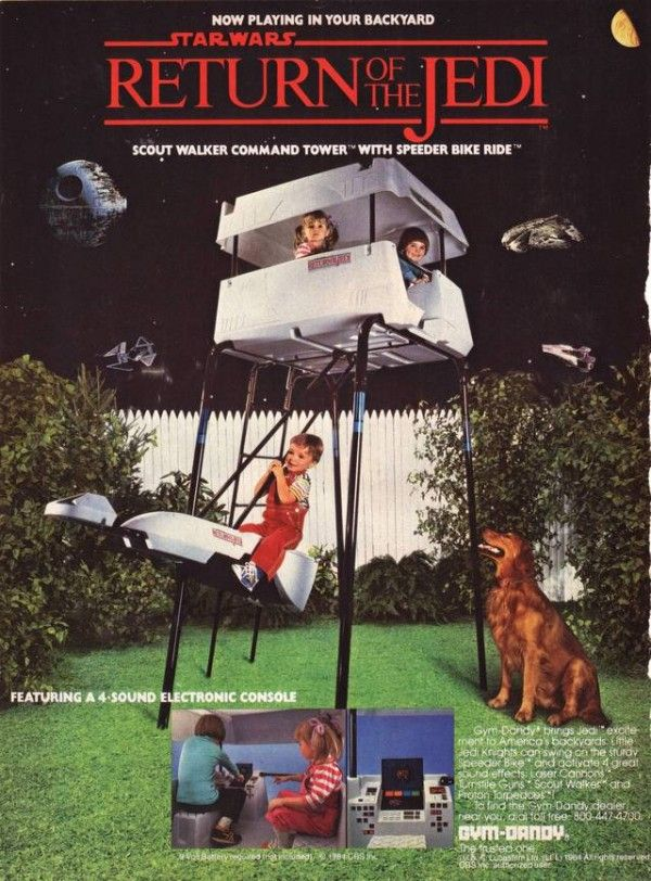 Star Wars Jungle Gyms existed in 1984