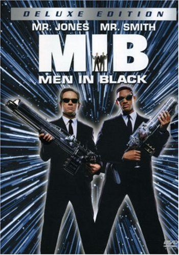 Men in Black. Defending the World from Aliens. Will Smith and Tommy Lee Jones