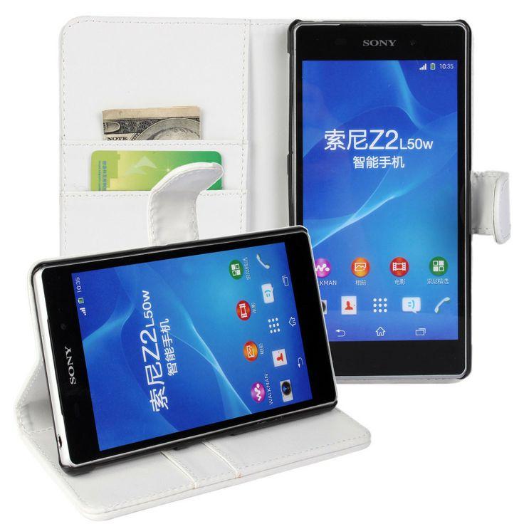New Case - Sony Xperia Z2 Leather Wallet Case Cover L50W - White, $14.95 (http://www.newcase.com.au/sony-xperia-z2-leather-wallet-case-cover-l50w-white/)