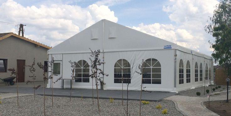 Party / Wedding / Event Tent in Kruszwica. // Namiot imprezowy, na wesele i na imprezę w Kruszwicy.