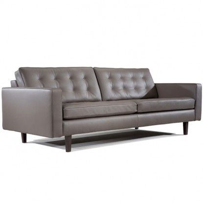 Grey Leather Couch | Grey Leather Couch.