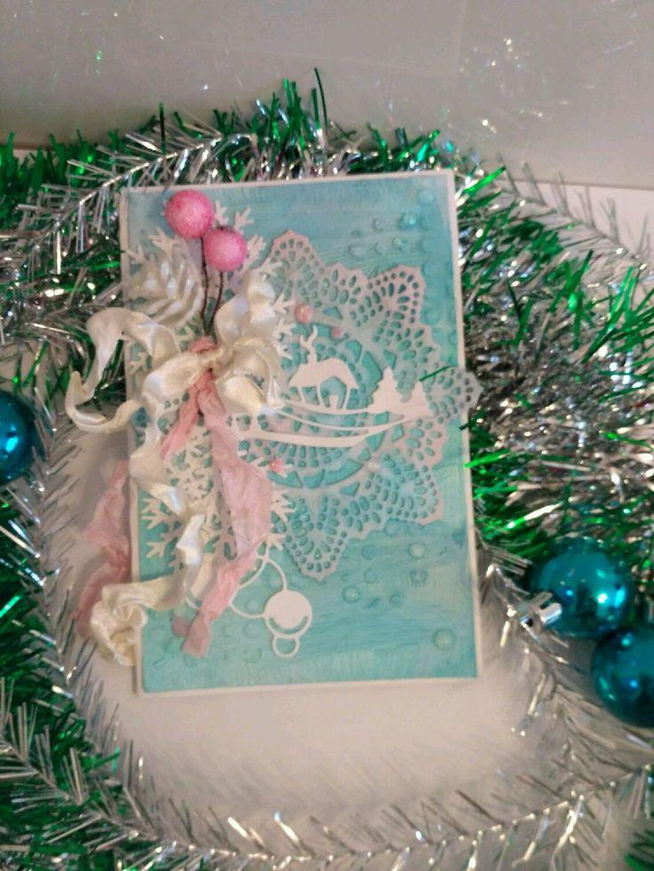 Купить Открытка с новым годом - Открытка на новый год, открытка с новым годом, новогодняя открытка