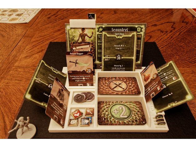 Gloomhaven Player Dashboard By Reeseauxiliaries Thingiverse