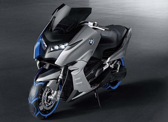 BMW Concept C, un prototype de maxi-scooter urbain présenté en 2012 /// BMW Concept C, a prototype of maxi-scooter shown in 2010.