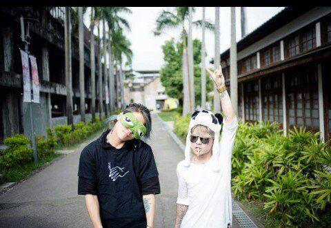 Hiro and Tatsu Crossfaith