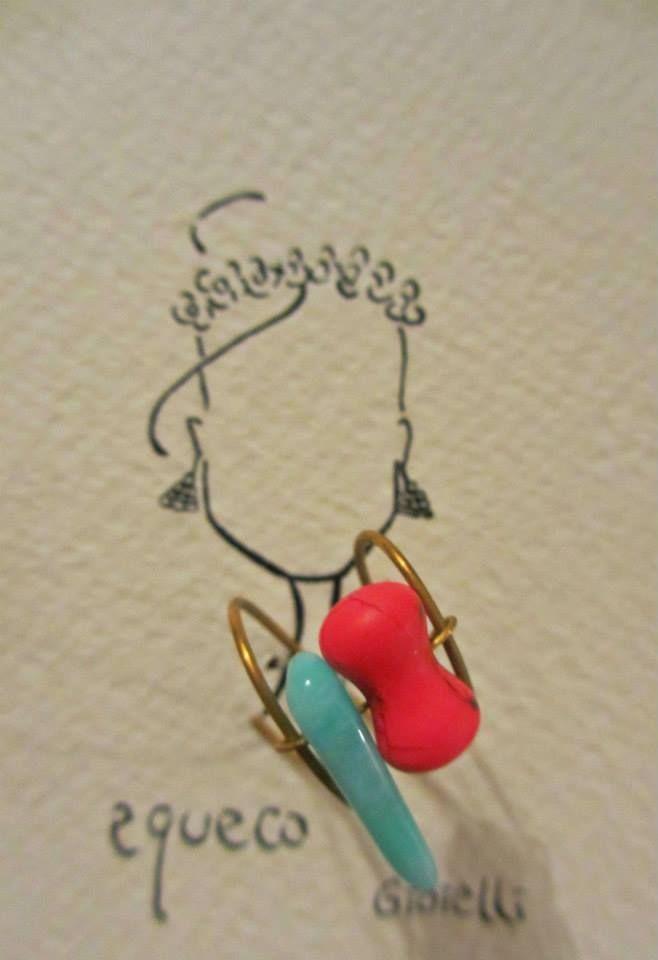 Anello fatto a mano ispirato all'arcobaleno / Cute colorful ring  #ring #fashion #colorful #handmade #bohemianjewelry