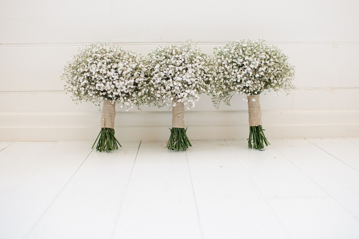 Gypsophila Amp Twine Bouquets So Sweet