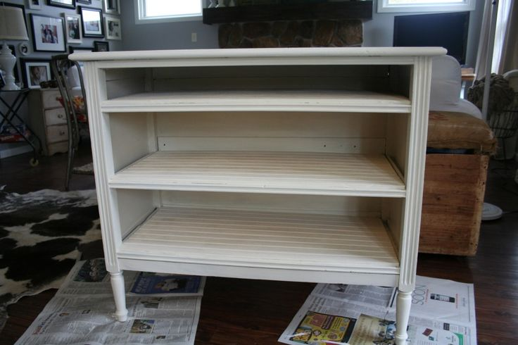 Love This Idea How To Minus The Drawers From And Old