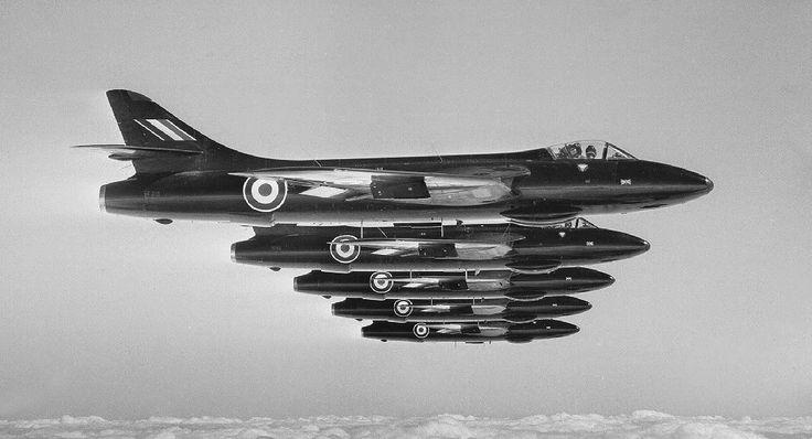 Hawker Hunter F6, 111 Sqn RAF