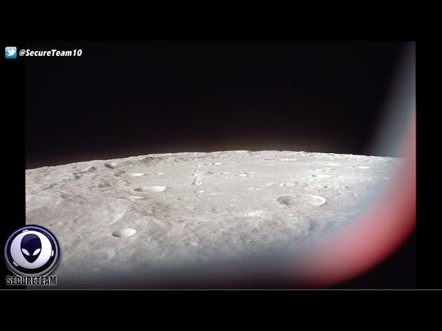 Bylo UFO nad Měsícem ve skutečnosti tajnou vesmírnou lodí USA?