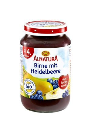 100% ORGANIC Baby Food by Alnatura made in Germany