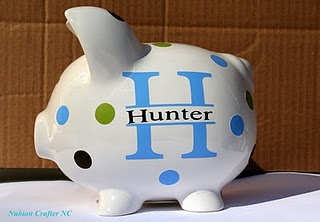 Personalized piggy banks great website for diff things