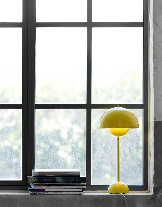 Via Skandivis   Panton Flowerpot Table Lamp