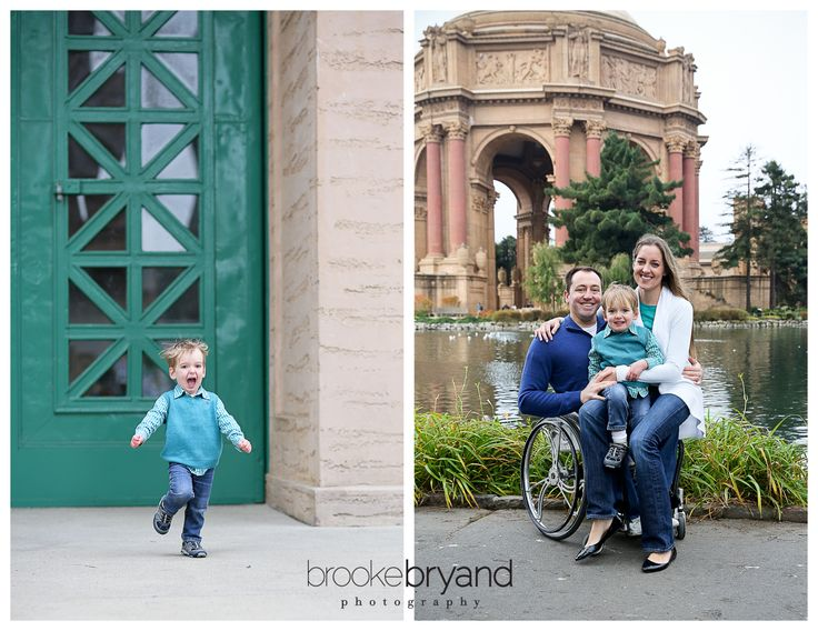 Brooke Bryand Photography | San Francisco Family Photographer | Palace of Fine Arts | Marina District | Family Portrait | Baby boy | Mom Dad and Son |