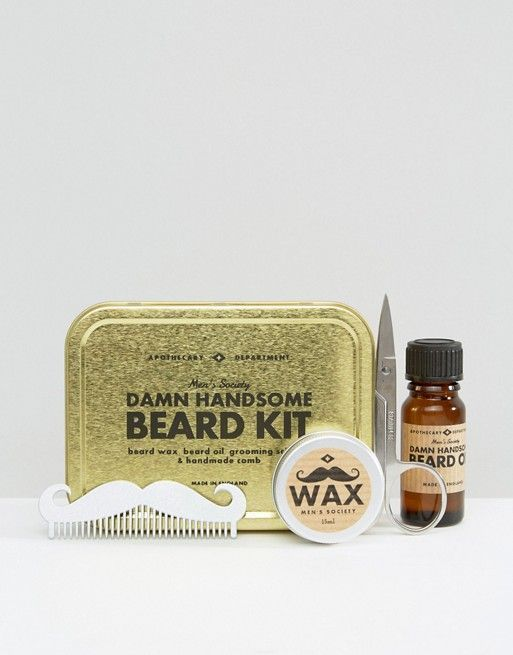 786bad26de7 Men s Society Beard Grooming Kit   Mens Grooming Essentials in 2018 ...