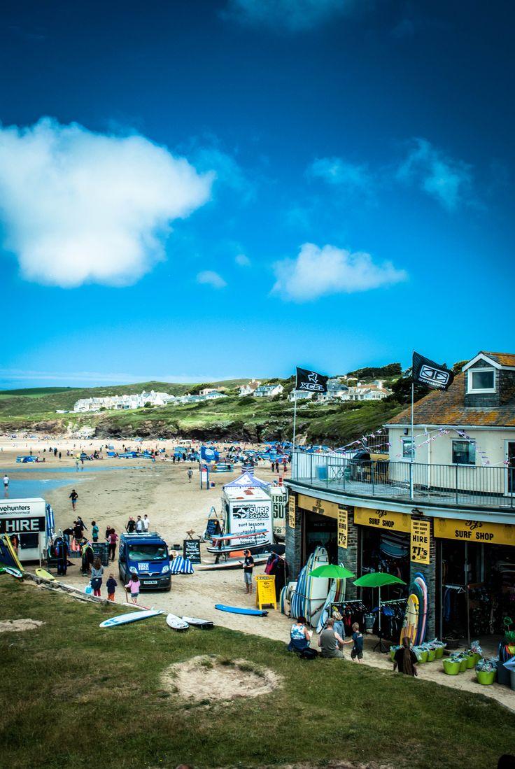 This is the best beach in Cornwall!!! Polzeath beach looking good!