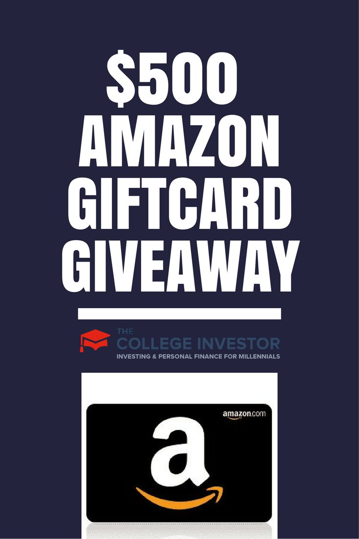 Enter to win a $500 Amazon Giftcard in our annual holiday giveaway here at The College Investor and make your holiday a little more special. via @collegeinvestor