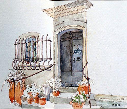 Coté Lourmarin   Porte d'entrée de la maison d'hôtes de Chri…   Flickr