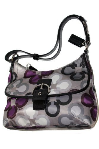 I usually do not like the styles of purses Coach makes, but I love this one!