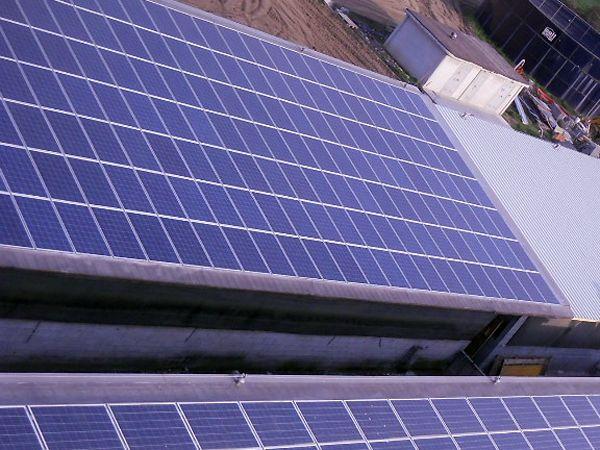 Impianto fotovoltaico indrustriale