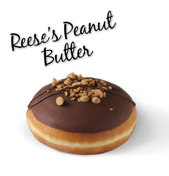 Filled with Reese's Peanut Butter, hand-dipped in chocolate icing and topped with hazelnuts and Reese's peanut butter drops.