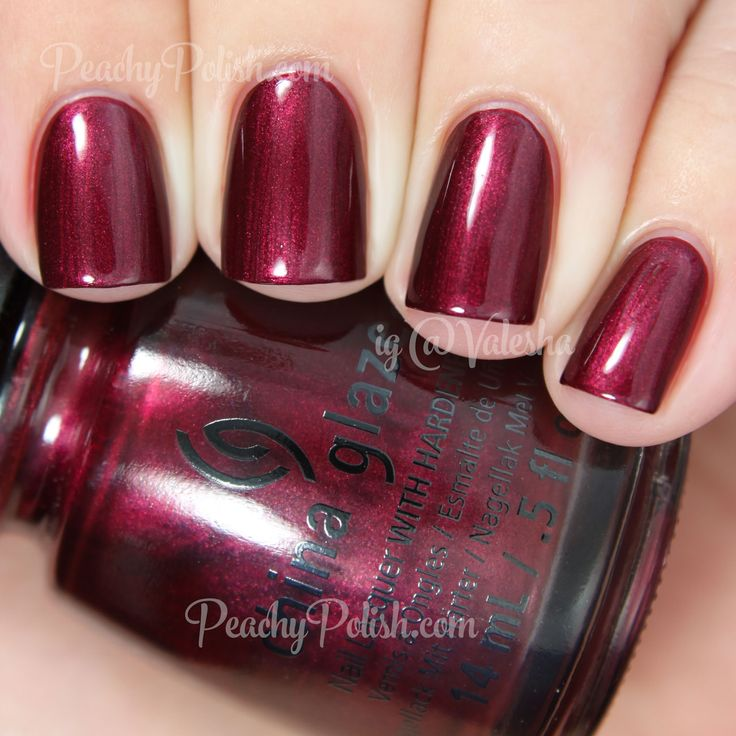 China Glaze: Define Good... (Holiday 2014 Twinkle Collection). Do I need a cranberry? I might! But I'm not sure CG is the one I want. Still, very pretty.