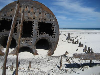 The sea legends of shipwrecks, their sunken 'treasures' and subsequent castaways off the coastline of South Africa are the stuff of many published works.