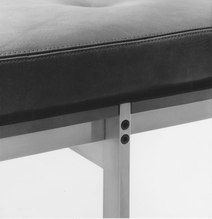 At bo-ex, attention to detail is key. Daybed by Fabricius & Kastholm for bo-ex furniture, 1964. http://www.bo-ex.dk/project/daybed/