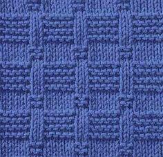 Knitting Galore: Saturday Stitch: Tile Stitch