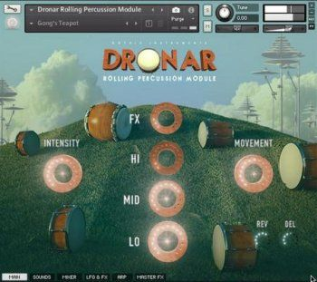 Gothic Instruments - Dronar Rolling Percussion (KONTAKT