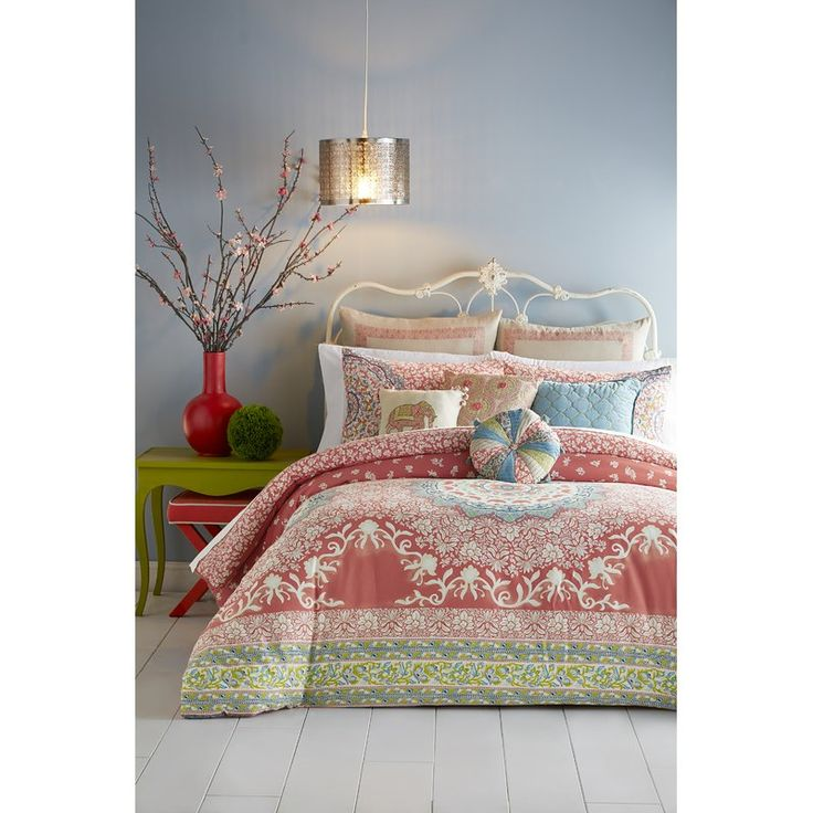 Refresh the master suite or guest room with this essential bedding, perfect paired with crisp sheets and plush pillows to craft a peaceful retreat.